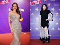Thu Minh, Phạm Hương 'không ai nhường ai' khi xuất hiện tại MAMA 2017!