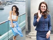 Đọ nhan sắc, thân thế của hai nàng dâu thường dân nổi tiếng của Hoàng gia Anh