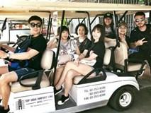 Trấn Thành đưa 3 người phụ nữ quan trọng của Hari Won đi du lịch