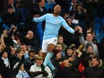 Sterling ghi bàn phút 90+6, Man City lập kỷ lục Premier League