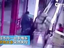 Trung Quốc: Chất quá nhiều trên xe đẩy, khách hàng gây ra tai nạn nghiêm trọng trong siêu thị