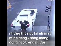 Thanh niên lầy lội nhất năm, ăn trộm siêu xe Ferrari rồi đi xin dạo tiền đổ xăng