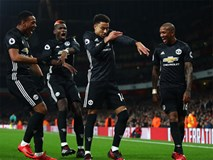 Lingard lập cú đúp giúp Man Utd nhấn chìm Arsenal tại Emirates