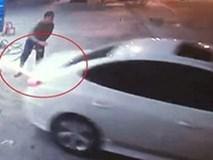 Tài xế ô tô 'quỵt' 900.000 đồng tiền đổ xăng ở Hà Nội
