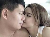 Sốc: Lộ ảnh MC Bình Minh khóa môi Trương Quỳnh Anh?