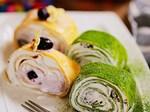 Cách làm bánh crepe sầu riêng lá dứa tuyệt ngon, ăn buổi nào cũng thích-2