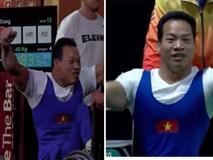 Lực sĩ khuyết tật Lê Văn Công đả bại nhà vô địch, phá luôn kỷ lục thế giới