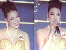Clip Phi Thanh Vân đoạt hoa hậu nhưng lại có phần thi ứng xử quá lố, gây cười