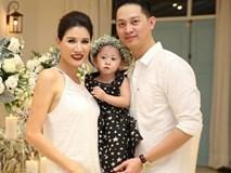 Con gái Trang Trần cực đáng yêu trong ảnh cưới của bố mẹ