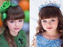 """Vẻ đẹp hút hồn của bé gái giống hệt búp bê, được ca ngợi """"xinh đẹp nhất thế giới"""""""