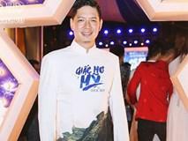 Giữa 'tâm bão' ngoại tình, Bình Minh vẫn vui vẻ đi ra mắt phim mới