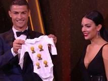 Con gái Ronaldo và Georgina được tặng món quà nhỏ siêu dễ thương