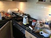 Trốn tiền nhà, mẹ 3 con còn để lại cả núi rác khiến chủ nhà tốn trăm triệu sửa chữa