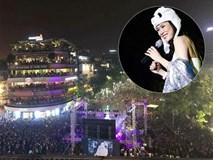 Clip Mỹ Tâm đội mũ gấu nhảy điệu 'say rượu' tới 2 lần để chiều lòng 10 ngàn khán giả