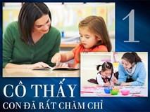 """7 câu """"thần chú"""" giáo viên Montessori thường dạy trẻ, cha mẹ nên học hỏi"""
