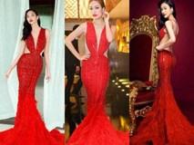 """Váy áo không thiếu nhưng sao Việt cứ """"tranh nhau"""" mặc mãi vài kiểu đầm này"""