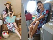Đã là bà mẹ 2 con, Tăng Thanh Hà vẫn đánh bật Miss Universe Pia khi vô tình đụng váy