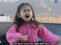 """""""Thiên thần"""" lai 4 tuổi tái xuất với bản cover Túy Âm cực đáng yêu"""
