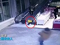 Trung Quốc: Ngã trên thang cuốn, bé mẫu giáo bị kẹp đứt tay