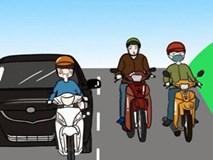 """""""Ngũ đại môn phái"""" tham gia giao thông tại Việt Nam"""
