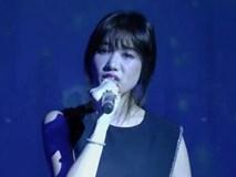 Hari Won lại hát live hụt hơi và mong khán giả thông cảm