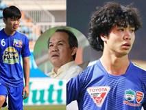 Bầu Đức úp mở việc cho Xuân Trường, Công Phượng sang Thái Lan chơi bóng