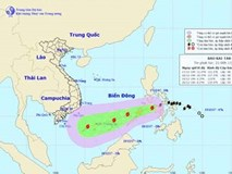 Trưa nay bão Kai-tak đi vào biển Đông, trở thành cơn bão số 15 trong năm nay ở Việt Nam