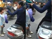 Phẫn nộ cảnh người mẹ chửi bới và tát con giữa đường chỉ vì làm mất đồ