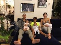 Bạn gái Ronaldo khoe khéo vòng một quyến rũ sau sinh