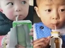 """Con không chịu uống thuốc, mẹ bỉm sữa dùng ngay vỏ sữa """"trá hình"""" và kết quả khiến ai cũng kinh ngạc"""