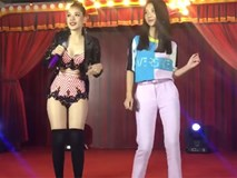Chi Pu hát ESRAXLED cho Quỳnh Anh Shyn nhảy