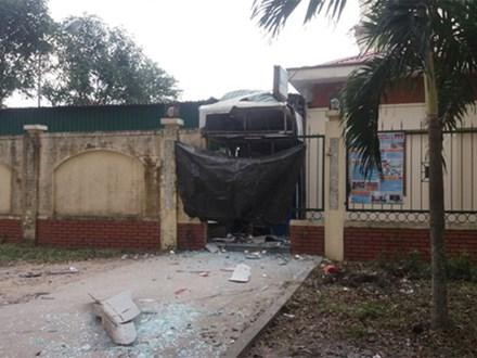 Nghệ An: Nổ cây ATM Vietinbank, thiệt hại hơn nửa tỷ đồng