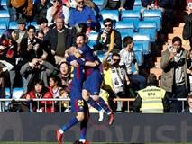 Messi tuột giày vẫn kiến tạo đẳng cấp cho đồng đội ghi bàn