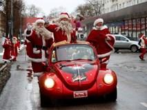 Không khí Giáng sinh ngập tràn trên toàn thế giới