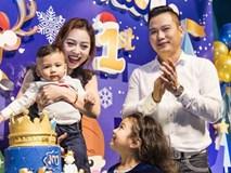 Jennifer Phạm và chồng tổ chức tiệc thôi nôi hoành tráng cho con trai