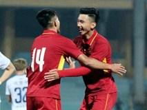 U23 Việt Nam đá giao hữu với U23 Palestine