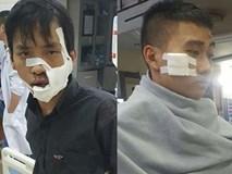 Chém nhau kinh hoàng trên phố, 5 người nhập viện