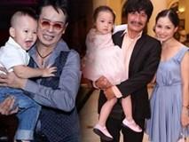 7 ông bố showbiz Việt sung sướng vô bờ khi 50 - 70 tuổi vẫn có con chào đời