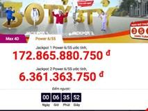 "Jackpot gần 180 tỉ của Vietlott chờ... ""nổ"" tối nay"