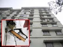 Hà Nội: Nền chung cư bất ngờ sụt lún, kèm tiếng nổ lớn, cả gia đình hốt hoảng tháo chạy