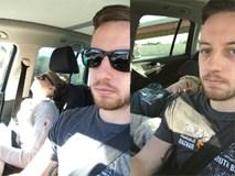 """Ông chồng """"có tâm"""" nhất năm: Cứ nhằm lúc vợ ngủ ngáy trên xe là chụp ảnh rồi """"khoe"""" khắp mạng xã hội"""