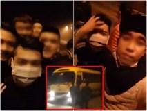 Clip: Nhóm thanh niên mang hung khí lên đường cao tốc chặn xin tiền rồi livestream khoe Facebook