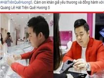 Sự thật Quang Lê 'túng' đến nỗi bán nhẫn kim cương tiền tỷ làm show?