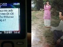 Loạt tin nhắn chồng U50 gửi vợ khiến giới trẻ