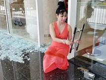 Diễn viên Uyên Thảo suýt gặp nạn khi cửa kính khách sạn bất ngờ phát nổ