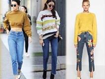 Năm 2018, thật buồn khi phải thông báo với các nàng: Jeans rách chính thức bị xếp xó!