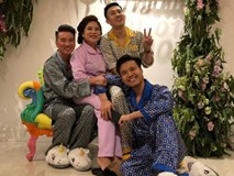 Đàm Vĩnh Hưng mặc đồ ngủ đến dự sinh nhật Dương Triệu Vũ