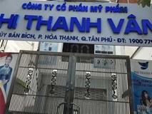Công ty mỹ phẩm của diễn viên Phi Thanh Vân sai phạm, đóng chặt cửa khi có thanh tra