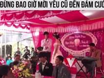 Chàng trai thu hút sự chú ý khi hát tặng người yêu cũ cực hay trong đám cưới