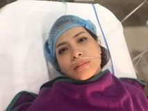 Cựu người mẫu Thúy Hạnh phải phẫu thuật cắt bỏ tử cung và không hề mang thai như đồn đoán